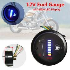 """Car Motorcycle 2"""" 52mm 10 LED Display Fuel Level Meter Digital Gauge Universal"""