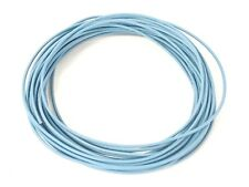 25 FEET AUTOMOTIVE WIRE 18 AWG HIGH TEMPERATURE TXL WIRE LIGHT BLUE COPPER