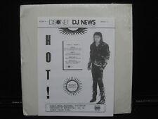 DISCONET DJ NEWS VOL.10, PROGRAM10-MICHAEL JACKSON, ERASURE AUDIOPHILE  2-LPS