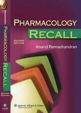 Pharmacology Recall Ramachandran MD, Anand Paperback Used - Good