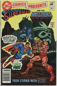DC Comics Presents #47 1st Appearance of HE-MAN SKELETOR MOTU NEWSSTAND !
