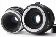 【AB- Exc】 Leica Elmar 65mm f/3.5 Nikon 2x Macro Tel Plus MC7  From JAPAN Y3552