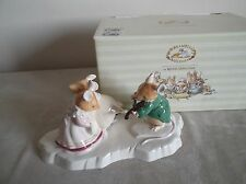 ROYAL DOULTON ~ BRAMBLY HEDGE ~  THE ICE BALL ~ DBH  30 ~ BOXED ~ LTD EDITION