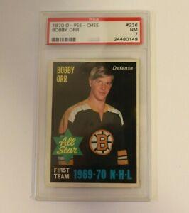 1970 O Pee Chee #236 Bobby Orr PSA 7 Boston Bruins