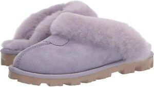 Women's Shoes UGG COQUETTE Sheepskin Slide Slippers 5125 JUNE GLOOM