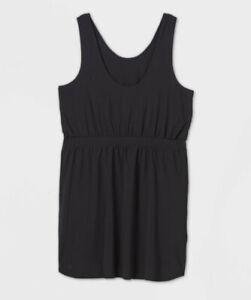 Women's Stretch Woven Dress - All in Motion Black L