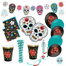 Halloween Party Deko Set Kinder Dekoration mexikanische Tischdeko Tag der Toten