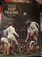 Book of Football Top Teams Album - Empty - 1971