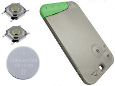 For Renault Laguna Espace 2 Button Remote key card  Fix Refurbishment Kit