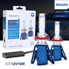 Philips Ultinon Essential Bulbs H11 LED Headlight 6000K 11362UEX2 Fog Lamps