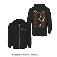 The Doors Hooded Top: Lizard King  X-LARGE