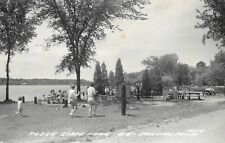 PONTIAC Michigan postcard USA US Oakland County RPPC Dodge State Park picnic