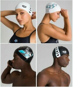Arena Swim Cap Icons Anime Capsule Collection Durable Silicone Swimming Pool
