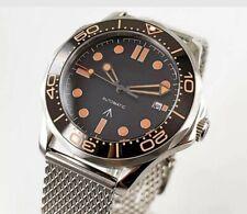 JAMES BOND  007 No Time To Die Style Steel & NATO Strap Watch - Spectre