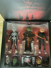 NEW NECA Halloween 3 Season of the Witch 8 inch Clothed Action Figure Set