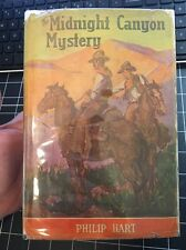 The Midnight Canyon Mystery By Philip Hart 1935 Very Rare Hcdj First Edition