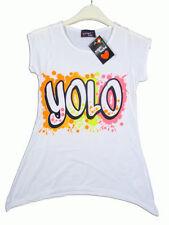 Girls' Graphic Sleeveless T-Shirts & Tops (2-16 Years)