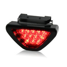 Flashing Car Sporty F1 Style Triangle 12LED Rear Stop Tail Third Brake Light RED