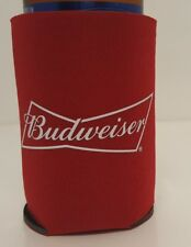 Budweiser Bud Bottle Can Wrap Coolers Koozie Coozie Coolie Red Crown King Beers