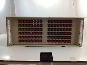 ADC FCM-720000 Fiber Panel 96 Port FC Singlemode, New