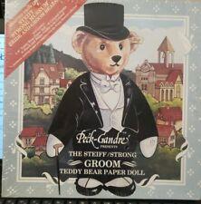 Steiff-Strong Museum Groom Teddy Bear Paper Doll~New Sealed