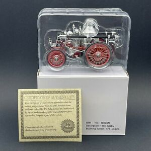Arko American Lafrance 1886 Silsby Manning Steam Fire Engine #6 Truck 1/43 Scale