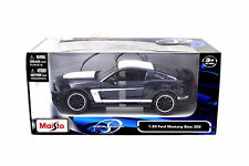 Maisto 2011 Ford Mustang Boss 302 Blue / White 1/24 Diecast car