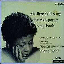 "ELLA FITZGERALD - SINGS COLE PORTER SONG BOOK - VERVE - 7"" EXTENDED PLAY"