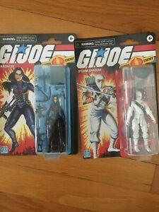 Hasbro GI Joe Retro Collection  Baroness Storm Shadow Lot Walmart