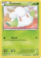 Cottonee Common Pokemon Card BW2 Emerging Powers 9/98