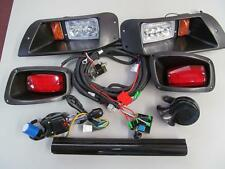 EZGO TXT Golf Cart Street Legal LED Light Kit With Turn & Brake Lites #2000L