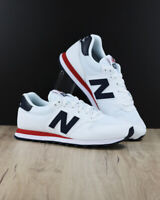 New Balance 500 Scarpe Sneakers Trainers Sportive Bianco Nubuck Mesh