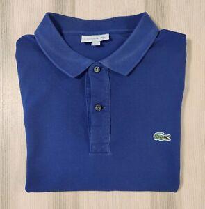 Lacoste - Polo - Blue - Slim Fit - Size XL / 6