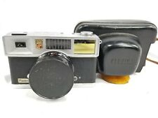 Vintage Yashica Flash-o-Set 35mm Camera w/40mm f1:4 lens and leather case