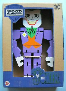 Wood Warriors Joker 201X NEW NIP DC Comics Wooden Action Figure Series 1 PPW Toy