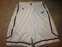 2013-14 Nike Virginia Tech Hokies Mens Basketball Game Worn Shorts *XXL*