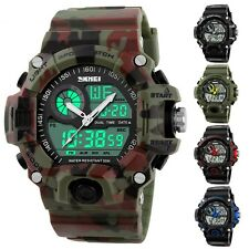Men's Digital Analog Sports Military Army Waterproof S SHOCK G style Wrist Watch