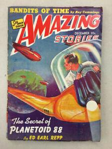 AMAZING STORIES – DECEMBER 1941 Pulp Digest – Cummimgs