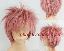 Wigs,FAIRY TAIL Etherious • Natsu • Dragneel ,rose court animation cheveux