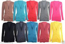 Summer Button Waist Length Jumpers & Cardigans for Women