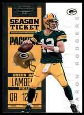 2012 PANINI CONTENDERS AARON RODGERS GREEN BAY PACKERS #35