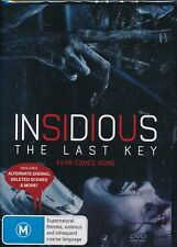 Insidious:The Last Key DVD NEW Region 4