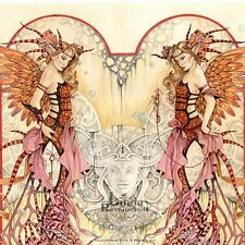 "Raro Nuevo Linda Ravenscroft Original "" Angels & Demons "" GÓTICO Hada Pintura"