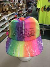 trucker hat baseball cap Fun Mountain water slide park multi retro vintage cool