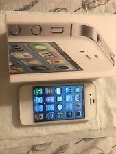 Apple iPhone 4s - 16GB - White (Sprint) IOS 6.1.3