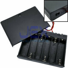 AA x 6 Open Battery Holder