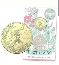 2020 Tooth Fairy Coin Australian $2 Coin on Card of Issue Mint UNC