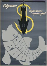 "Cold war period ""Europe, beware of bait!"" poster"