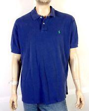 f0c5fbab ... vtg 90s euc Polo Ralph Lauren Blue Casual Collar Polo Shirt green pony  Xxl