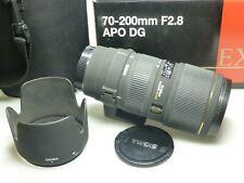 Sigma EX 70-200mm F2.8 HSM APO DG f. Canon
